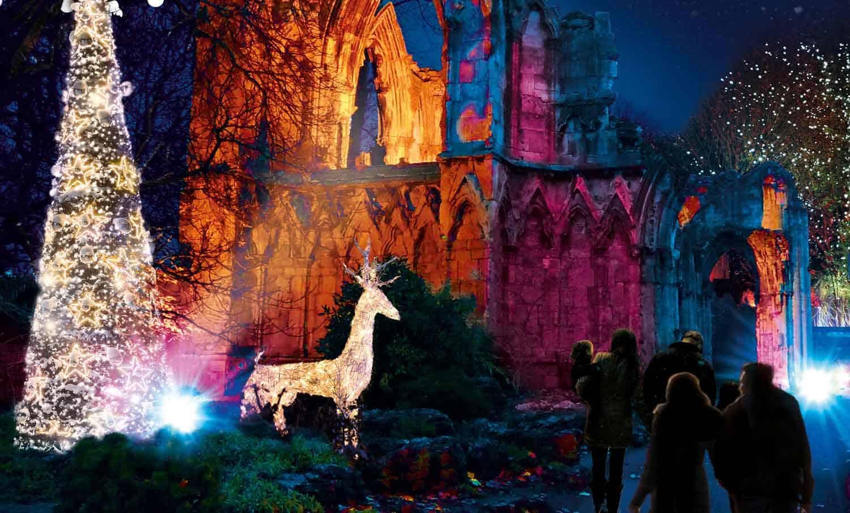 *New* Christmas at York Museum Gardens: Illuminated Walk and Fairy-tale Christmas Village