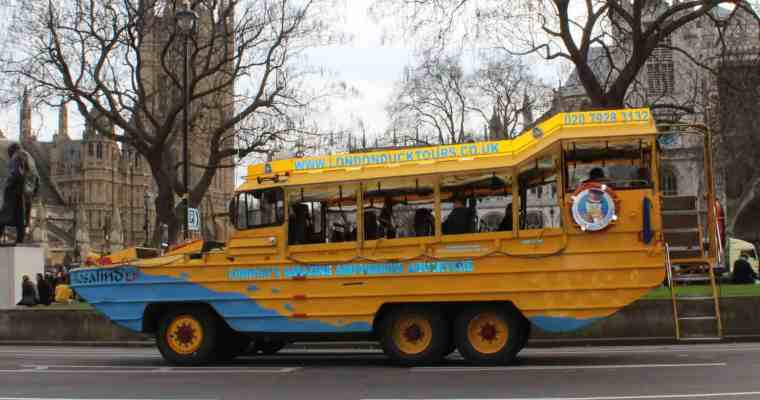 London Duck Tours – A Quirky and Family Friendly Tour of London