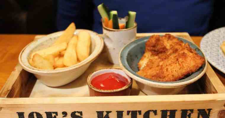 Joe's Kitchen, Ludgate Hill, London – Great Family Friendly Restaurant