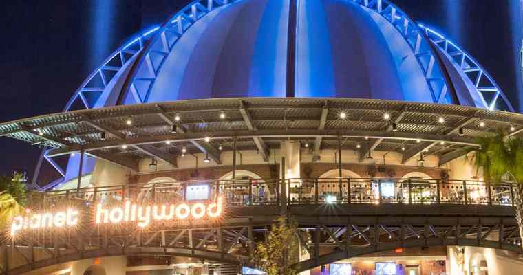 Planet Hollywood, Disney Springs Restaurant Review