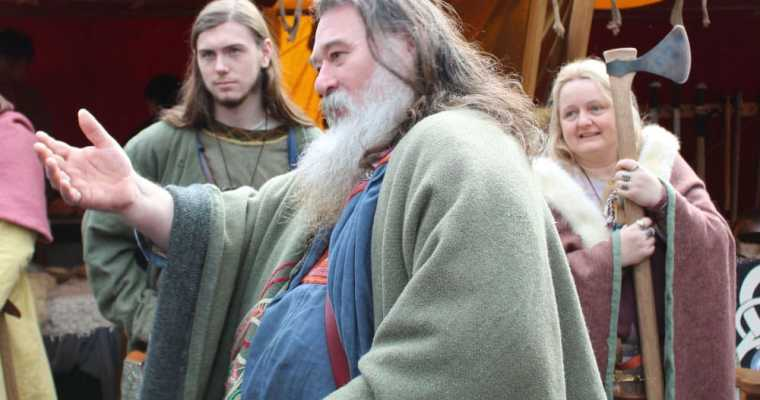 Viking Warriors and a Best Beard Competition – the Jorvik Viking Festival