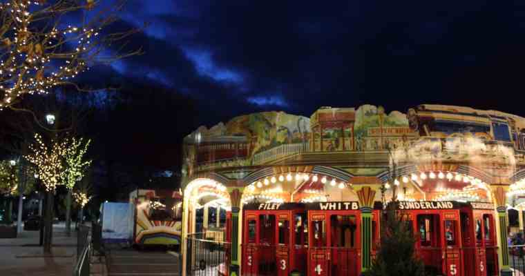 Yorkshire Winter Wonderland York 2017 – Review – Santa, Vintage Funfair and Ice Skating