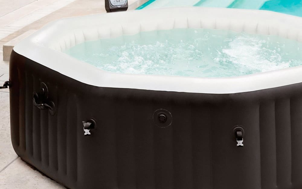 best inflatable hot tubs uk luxury in your garden. Black Bedroom Furniture Sets. Home Design Ideas