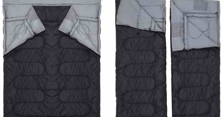 Best Double Sleeping Bag for Camping