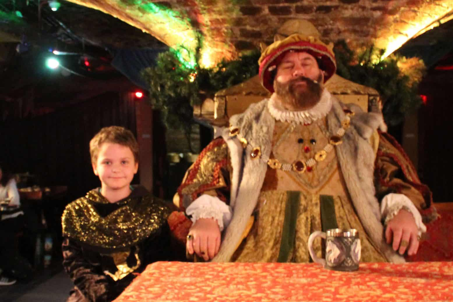 With a Hey Nonny! Taking Kids to the Medieval Banquet, London