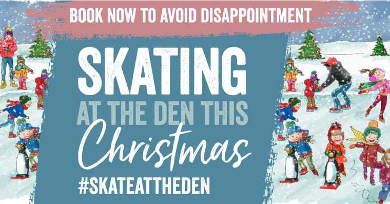 William's Den at Christmas – Ice Skating!