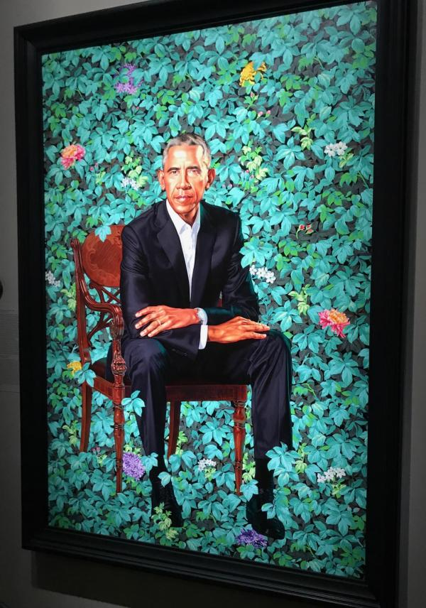 Obama Portraits Commentary Race And Power In