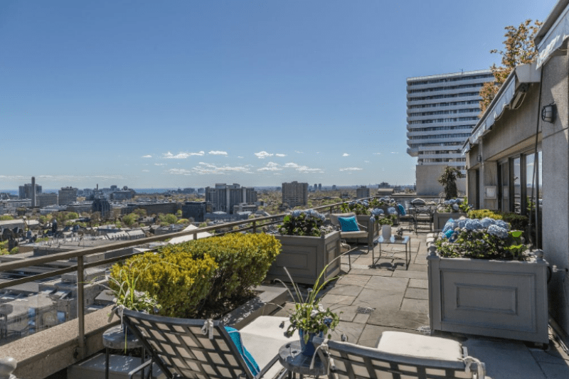 175 CUMBERLAND CONDOS - PENTHOUSE TERRACE VIEW