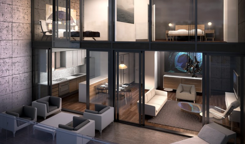 111 BATHURST CONDOS - TWO FLOOR LOFT FOR SALE - CONTACT YOSSI KAPLAN