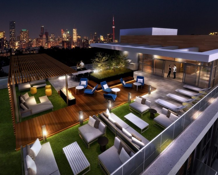 223 St Clair Ave Zigg Condos for Sale - Call Yossi KAPLAN- Roof Top