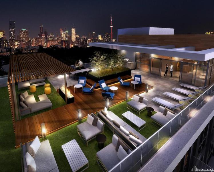 223 St Clair Ave Zigg Condos for Sale - Call Yossi KAPLANZIGG-ROOFTOP-TERRACE
