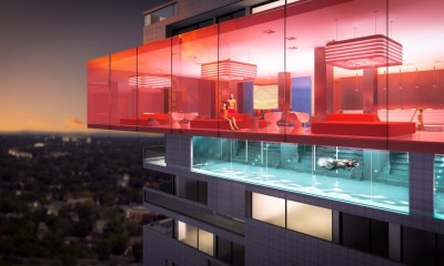 E2 Condos Amenities - Infinity Pool