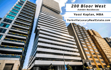 200 Bloor West Condos for Sale – Exhibit Residences