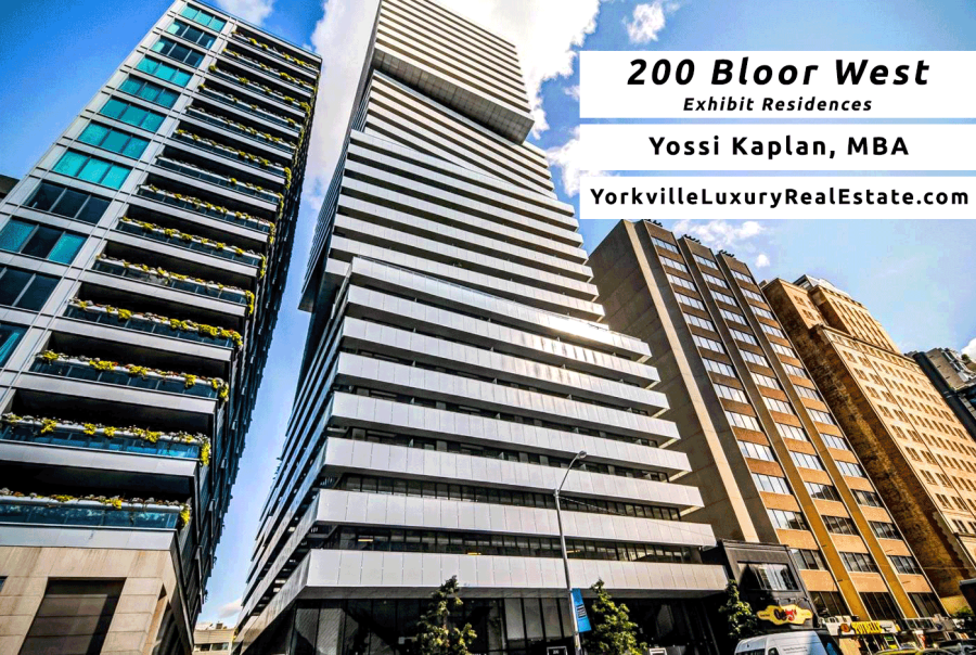 Exhibit Residences for Sale - 200 Bloor West Condos - Contact Yossi Kaplan