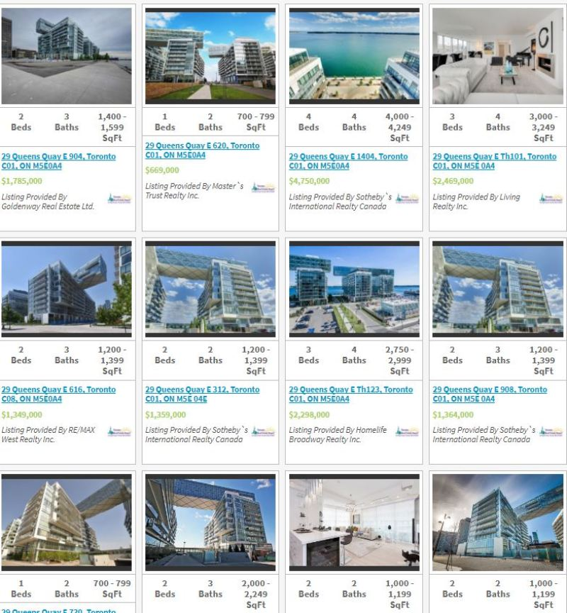 Pier 27 - 29 Queens Quay - Live Listings
