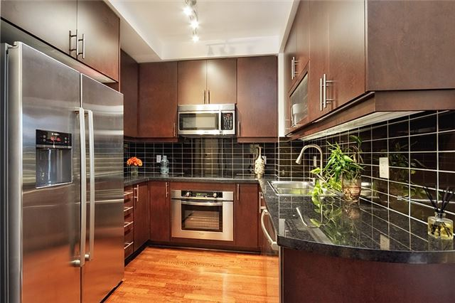 UPTOWN RESIDENCES - MODEL SUITE KITCHEN - CALL YOSSI KAPLAN