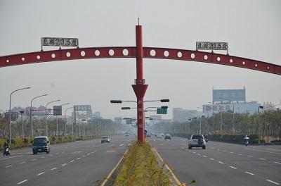 ロードバイクで台湾一周 4日目嘉義→高雄130km