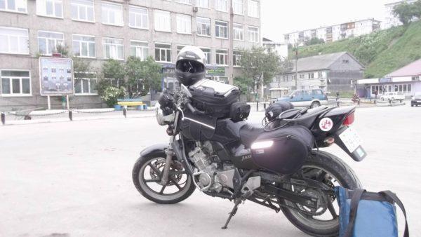 海外オートバイでツーリング