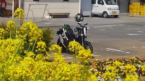 バイクの洗車場所