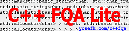 [C++ FQA Lite]