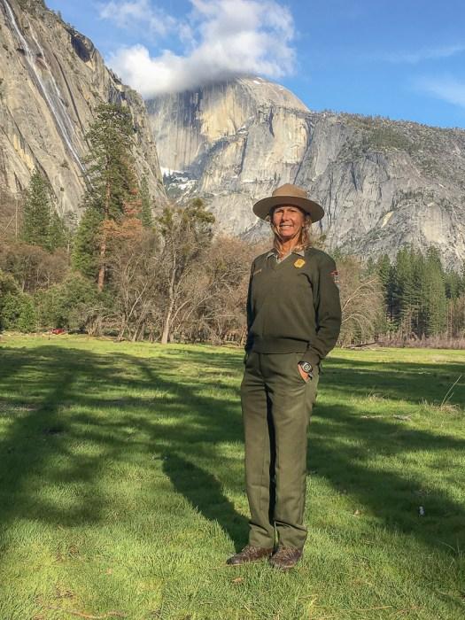 Christine White Loberg Yosemite Peaches