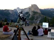 Yosemite National Park Dark