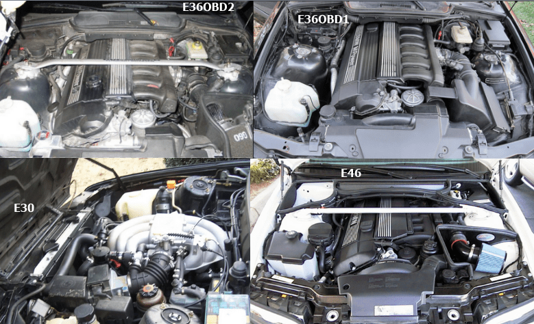 Differences in wrenching: E30 -> E36 -> E46  