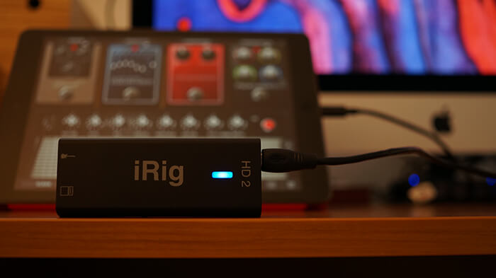 i-rig,ギター,エフェクター,hd