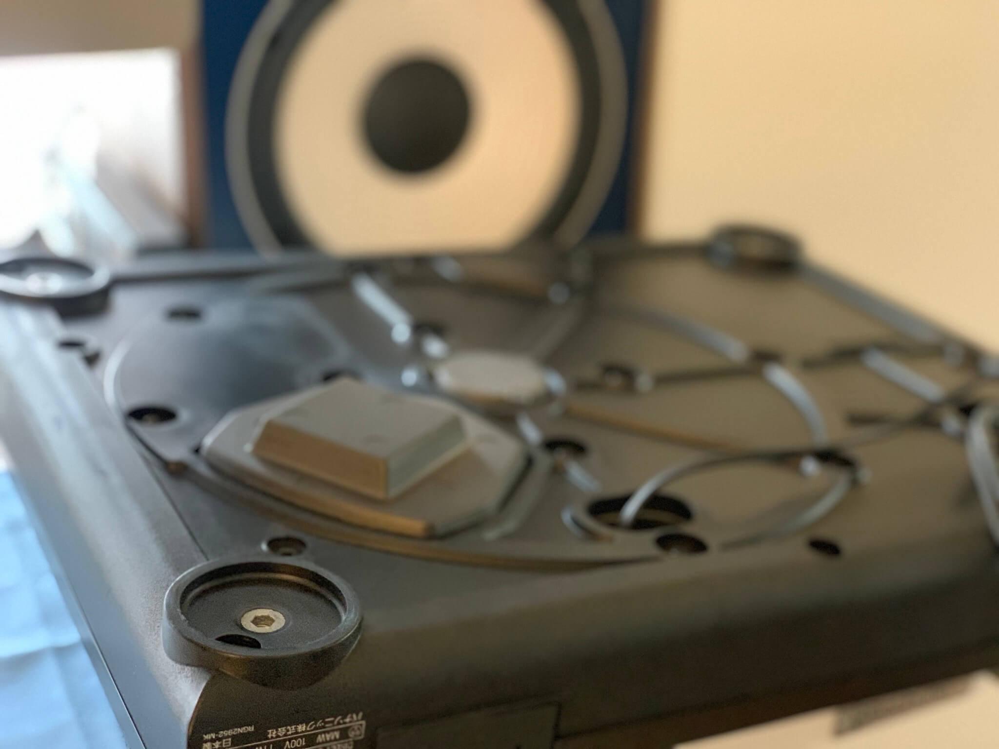 テクニクス,sl1200,改造,RCAケーブル,自作