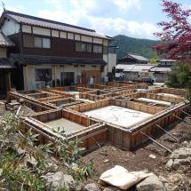 篠山Y様邸基礎2