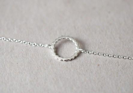 Bracelet with Dotty Ring