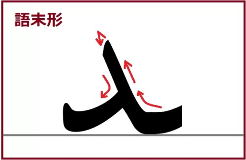 ダール語末形