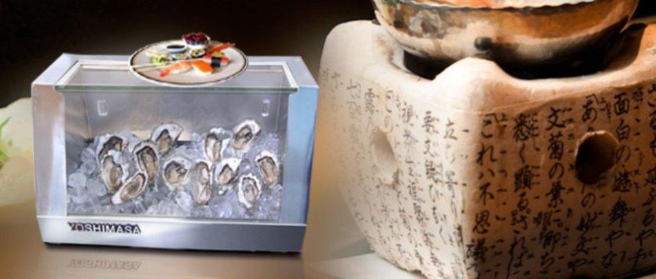 Yoshimasa USA Inc  Manufacturer Specializing in Sushi Display Cases  Manufacturer of Custom