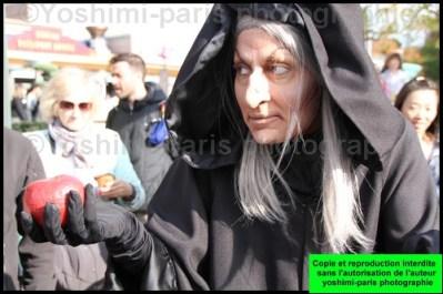 la sorcière de blanche neige - les méchants font leur parade - disneyland paris 2015