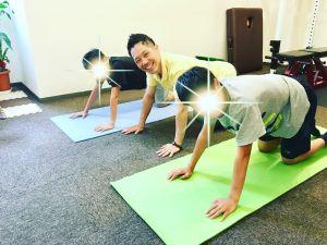 【岩倉駅前ダイエット】野球少年で勉強しすぎて猫背になった中学生のパーソナルトレーニング
