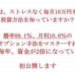 鉄則 日経オプション秘伝の書 勝率89%で月利10% 日経オプションの投資法