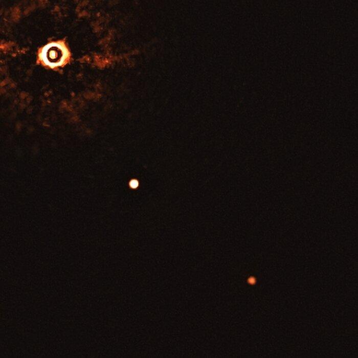 2つの系外惑星