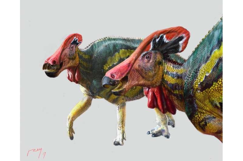 おしゃべり恐竜