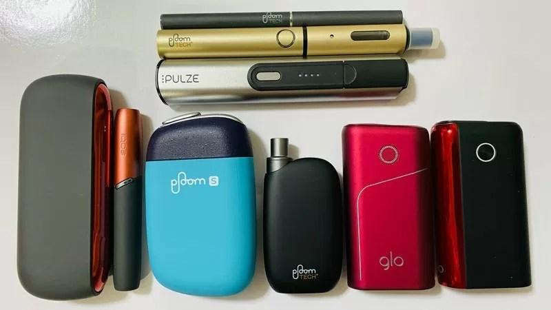 アイコス、グロー、プルーム、パルズ 加熱式タバコの各デバイス比較まとめ【最新版】