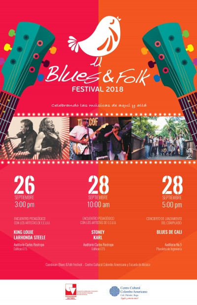 El Blues & Folk Festival se toma Univalle