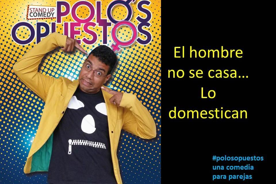 Polos Opuestos  en Casa Comedia Cali by Artescénicas