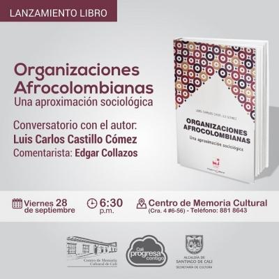 Lanzan libro sobre organizaciones afrocolombianas