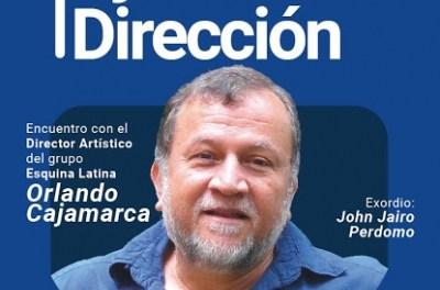 Orlando Cajamarca inaugura el ciclo Ojo a la Dirección