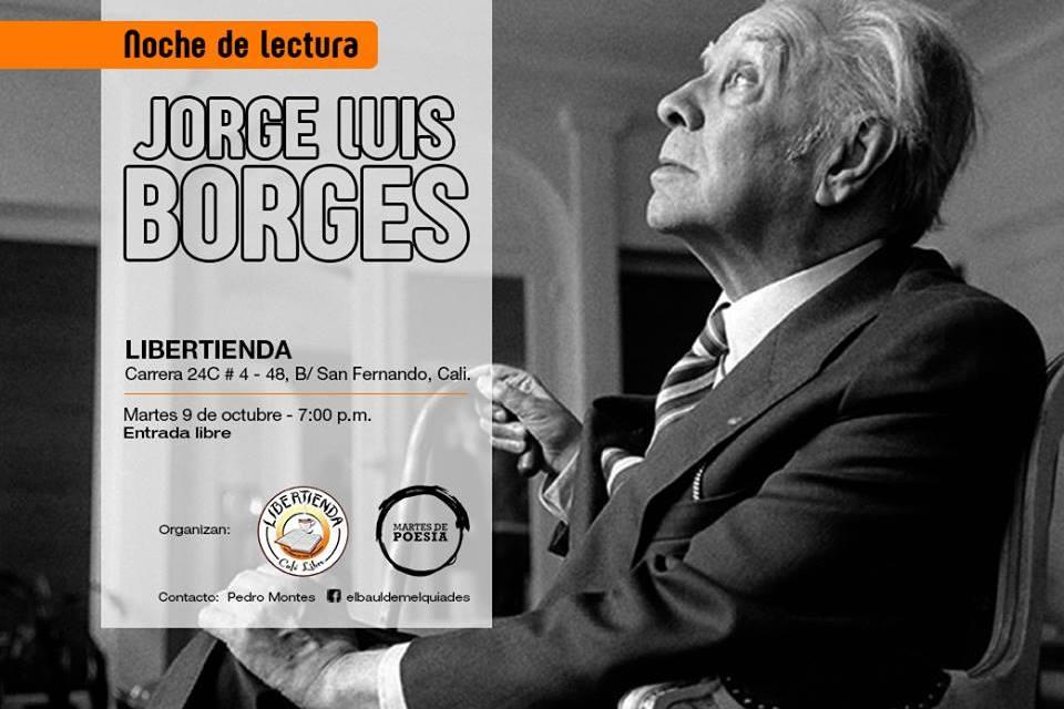 Noche de lectura Jorge Luis Borges