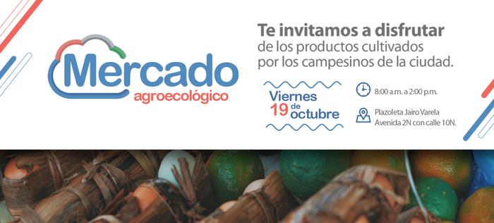 El Mercado Agroecológico vuelve este viernes 19 de octubre