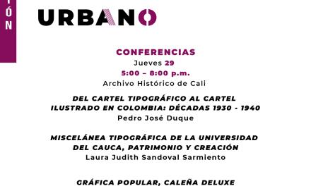 V Seminario de Cultura Escrita «Tipografías y gráfica en el cartel urbano»