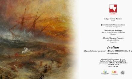 Acto I y II de la ópera MAAFA: El holocausto de la esclavitud