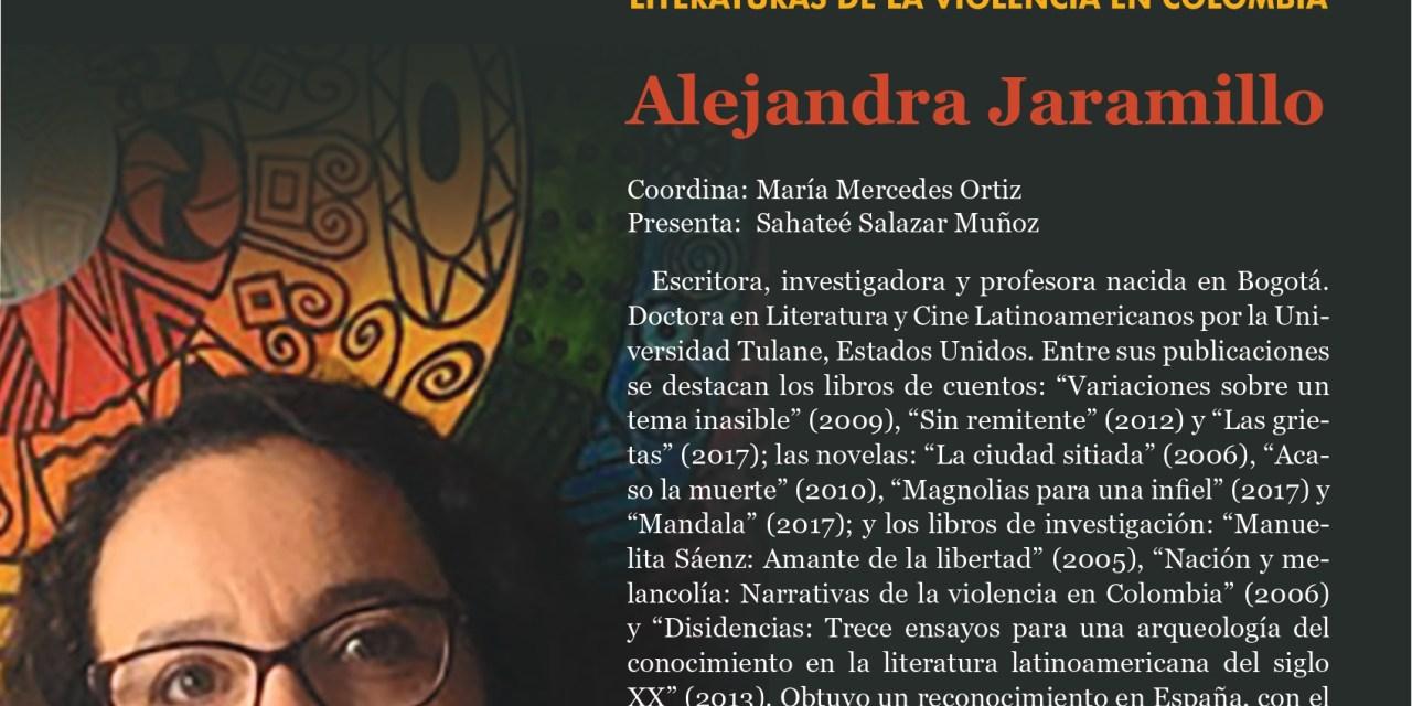 VIERNES DE LETRAS CON ALEJANDRA JARAMILLO