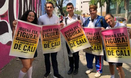 ¡Campaña de cultura ciudadana 'Yo me Comprometo' se tomó las calles de Cali!