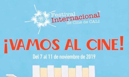 Listo el afiche del Festival Internacional de Cine de Cali